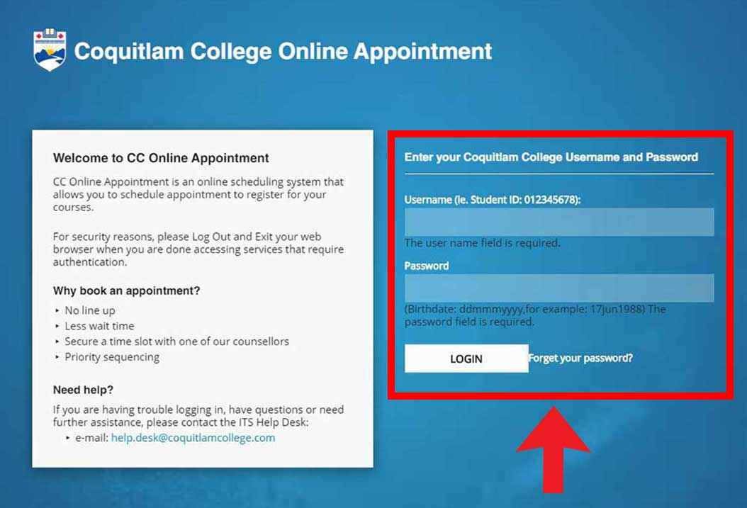 Online Appointment System